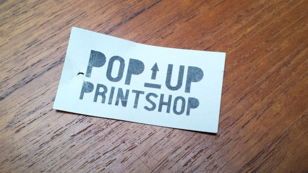 Pop-Up Print Shop, Orcas Island